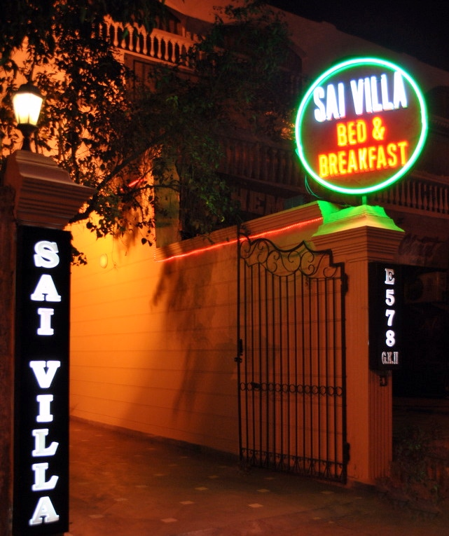 Sai villa entrance
